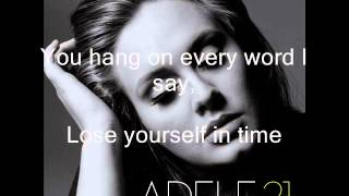 One and only Adele Karaoke (tono menor)