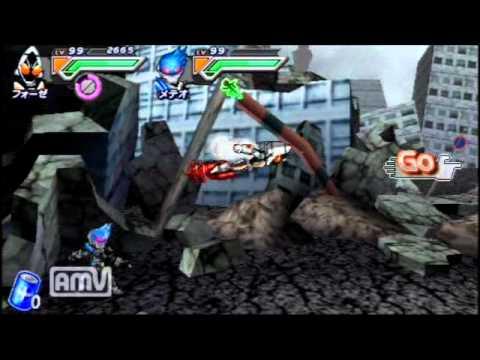 PSP All Kamen Rider Rider Generation 2 Fourze All Switch