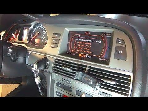 Audi A6 USB Флешка вместо CD чейнджера