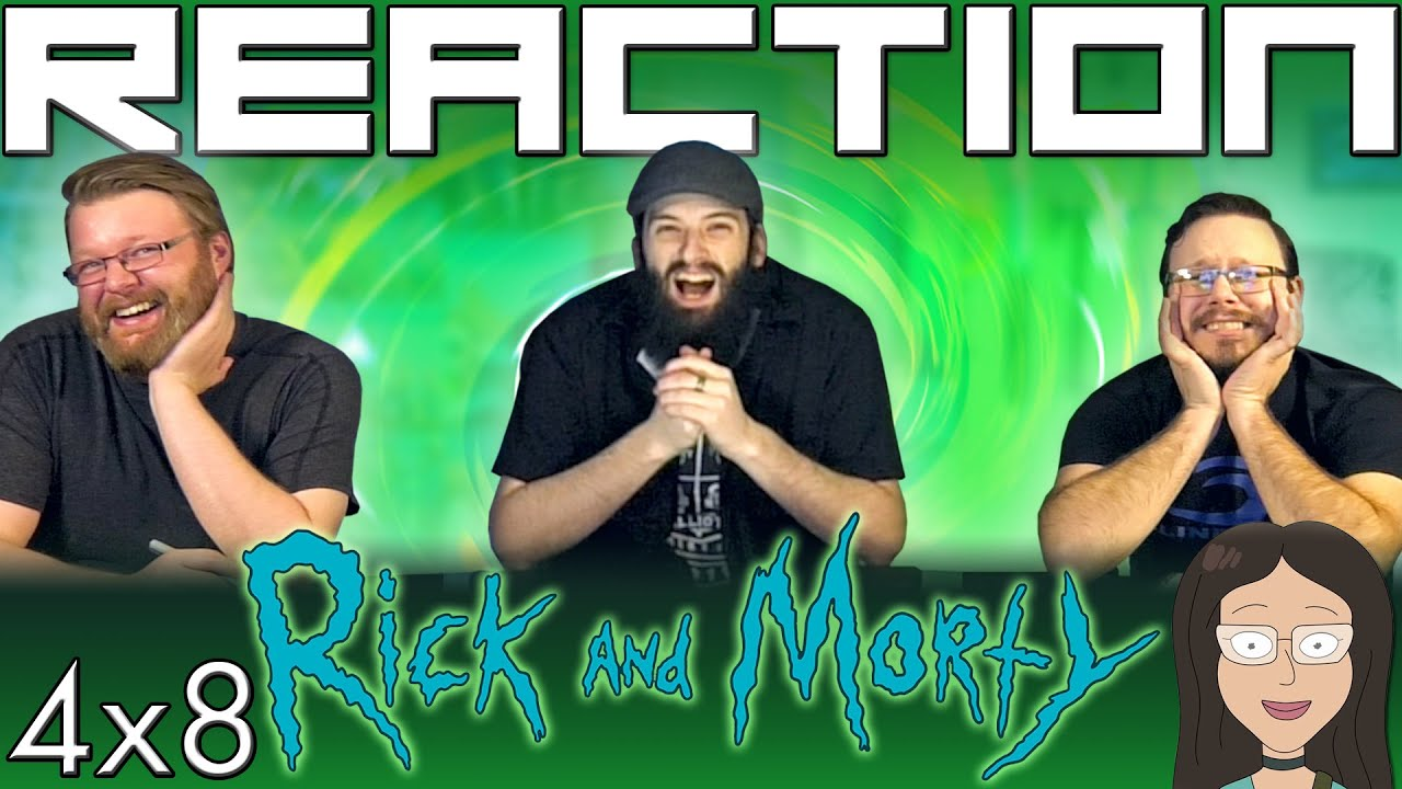 """Download Rick and Morty 4x8 REACTION!! """"The Vat of Acid Episode"""""""