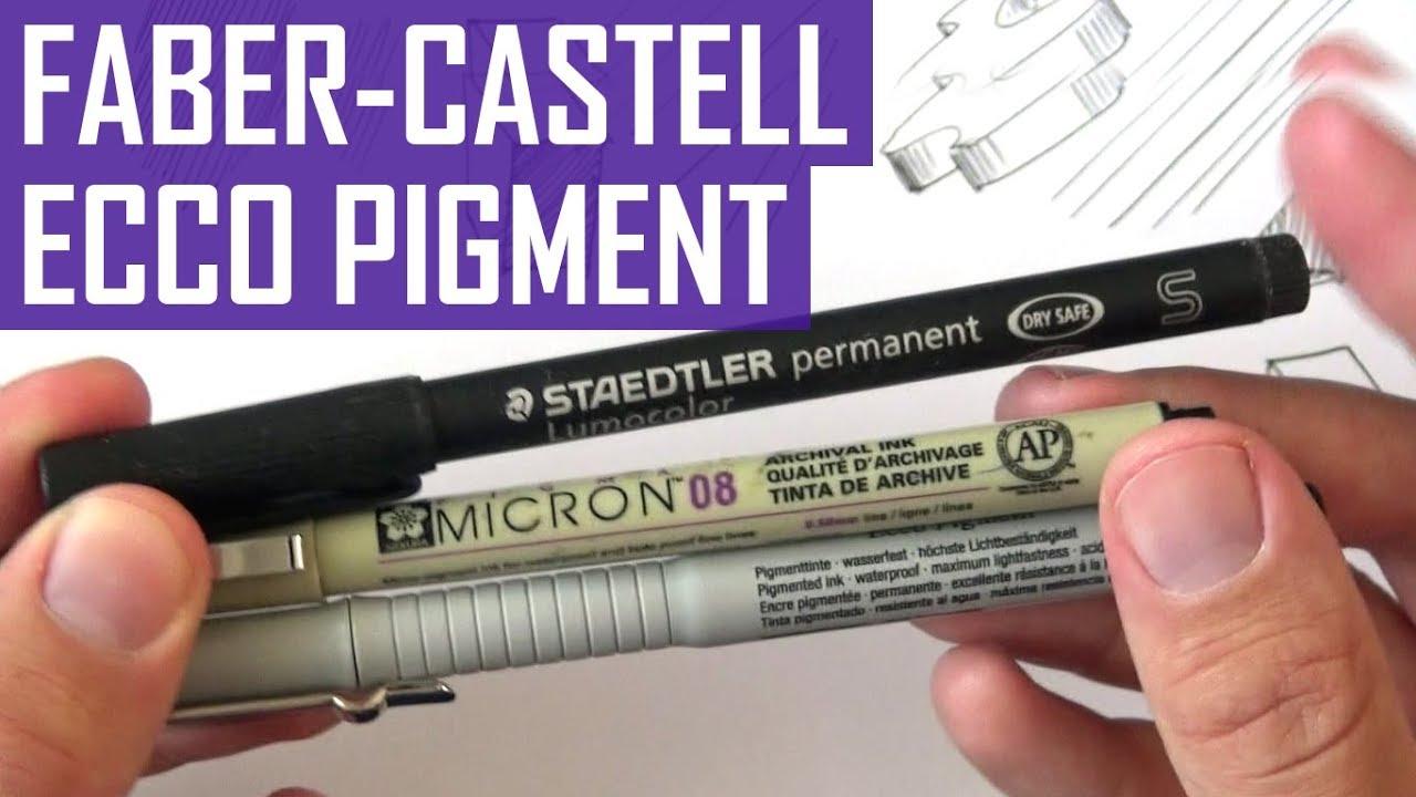 elegante Form 100% Zufriedenheit elegant im Stil Faber-Castell Ecco Pigment | Review and Demo