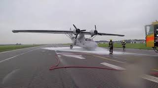 Emergency landing Catalina PH-PBY through the eyes of the fire brigade