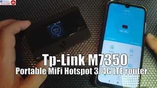 Tp-Link M7350 MiFi Portable Hotspot 4G LTE Router