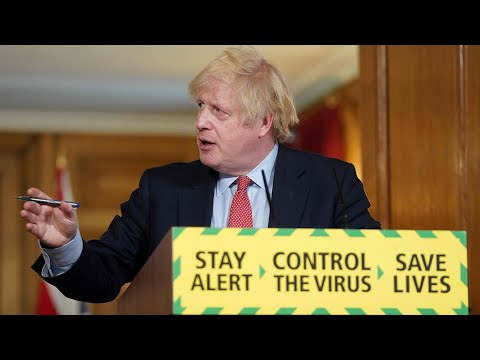 Watch again: Boris Johnson holds daily Covid-19 briefing and announces easing of some restrictions