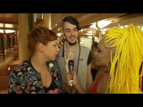 Entrevista com Ami James - Chilli Beans Fashion Cruise 2015 - Parte 2