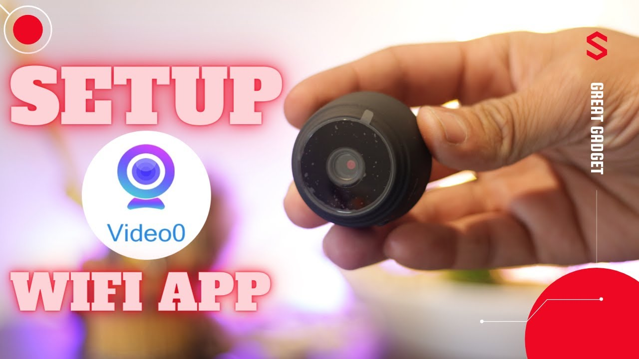 Download a9 Mini WIFI HD 1080p Wireless IP Camera Setup Video0 APP