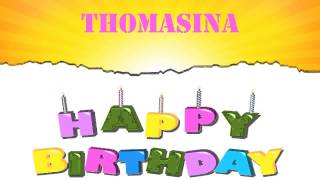 Thomasina   Wishes & Mensajes - Happy Birthday