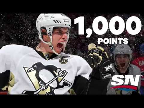 Crosby joins the 1,000 point club