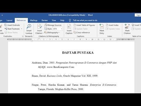 Cara Membuat Daftar Isi Otomatis di Microsoft Word. Membuat daftar isi skripsi, makalah, maupun laporan bisa dibuat secara ....