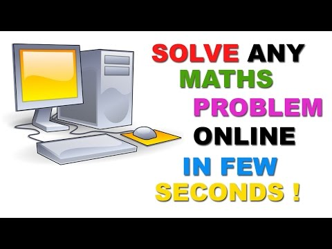 Видео Math websites to help solve problems