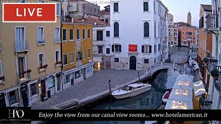 Фото Venice Italy Live Webcam - Dorsoduro In Live Streaming From Hotel American Dinesen - Full Hd