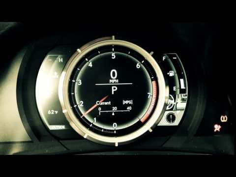 Lexus Dash Startup  - Roberts Auto Sales