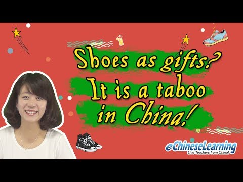 """Beginner Mandarin Chinese: """"Shoes: Cultural Lesson"""" with eChineseLearning"""