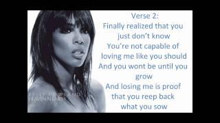 Kelly Rowland -  Heaven & Earth (With Lyrics) [Here I Am]