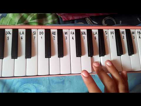 Not pianika lagu trima kasihku by Queen Diva