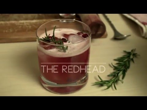 The Skinny Redhead Cocktail