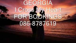 """GEORGIA """"I CROSS MY HEART""""George Strait"""""""