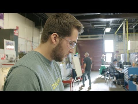 Jonathan learns the future is endless in Mechanical Technician – Precision Skills