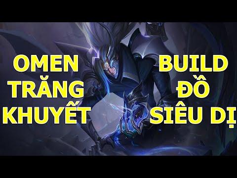 Build đồ siêu dị mà mạnh vô cùng cho OMEN chiến binh trăng khuyết