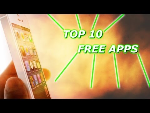 Top 10 Free iPhone Apps (iPhone 5)