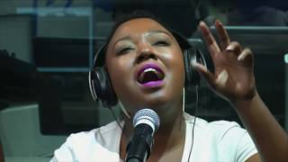 Brenda mtambo south africa's talented and treasured vocalist on 702 live lounge