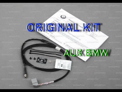 AUX штатно без колхоза на BMW E39, E46, E53, E83, E85