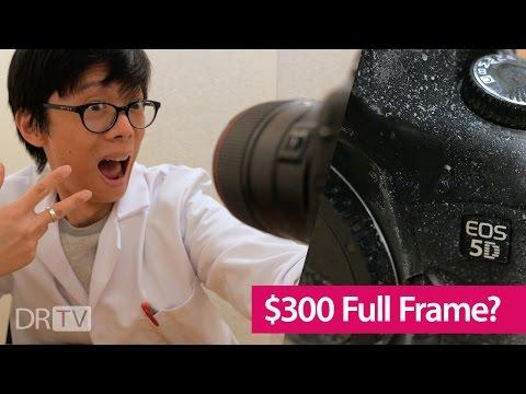 Full Frame DSLR for Less than $300!