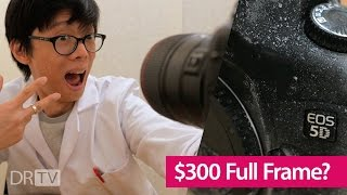 Full Frame DSLR for Less than $300!