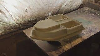 Розробляємо корпус кораблика для риболовлі 6 Серія - знімаємо форму і отримуємо перший корпус