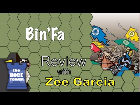 Dice Tower - Bin'Fa Review with Zee Garcia image
