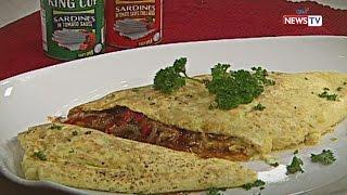 Idol sa Kusina: Sardines Omelette