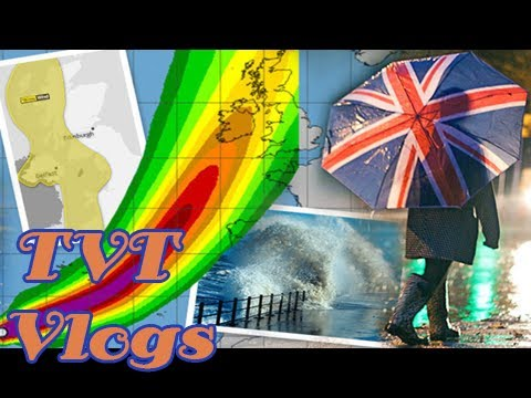Hurricane ophelia heading for uk sparks 'red status' weather warning to take action now [TVT Vlogs]