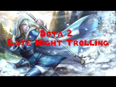 Dota 2 Late Night Trolling- Feeding Frenzy