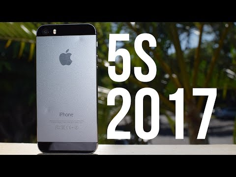 Using an iPhone 5s in 2017