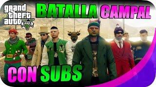 SHOLO GAMER23 Y EPSILONGAMEX EN GTA V ONLINE BATALLA CAMPAL #20 PS4 MISIONES Y CARRERAS