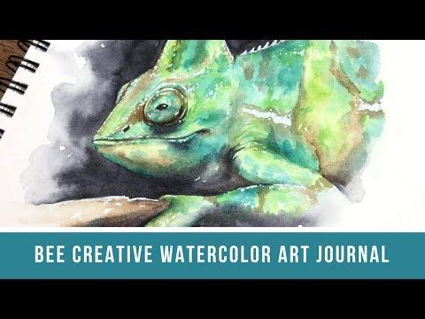 Bee Creative Watercolor Art Journal | Bee Paper Journal Review