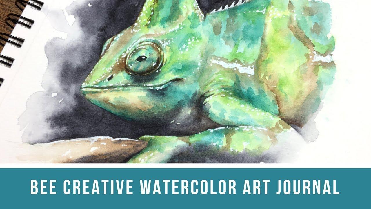 Bee Creative Watercolor Art Journal Bee Paper Journal Review