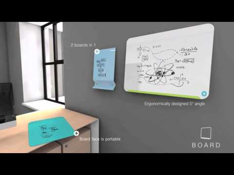 GMi LINK Boards - Colorful, Portable And Magnetic Whiteboards