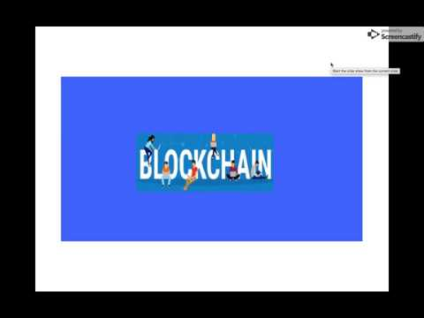 BT001- What is Blockchain?