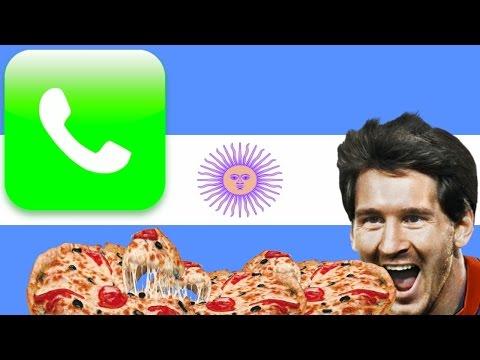 UN ARGENTINO PIDIENDO PIZZA | BROMA TELEFÓNICA