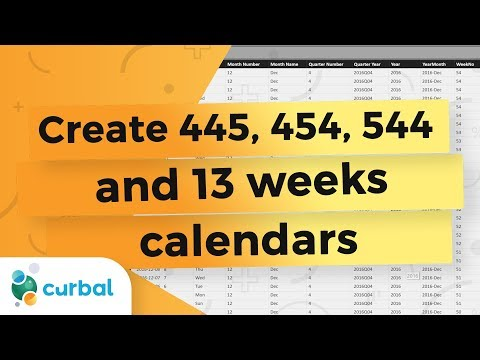 Create a custom 4-4-5 calendar that self-generates in Power BI - Power BI Tips & Tricks #23