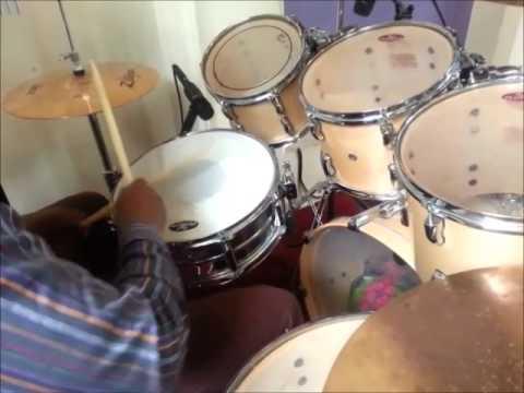How to play Hilife,Calypso and makossa drum Mix