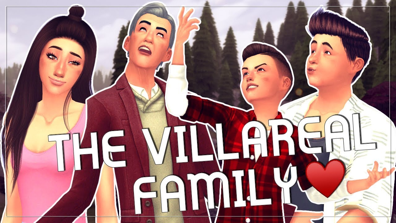 Sims 4 Townie Makeovers ||The Villareal Family