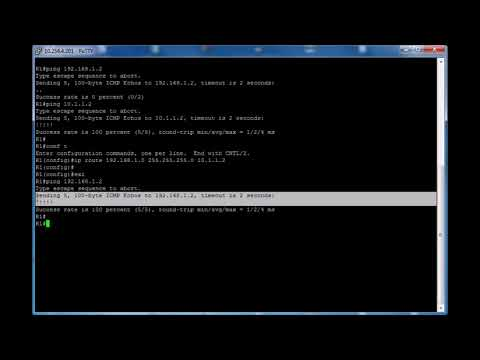 Static routing (Cisco) - Grandmetric
