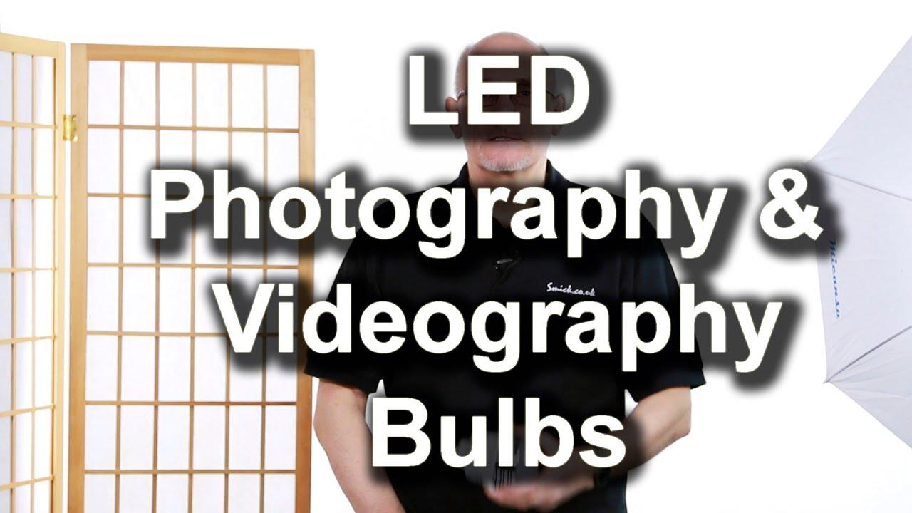 led lighting photographic bulb es 5500k cri 90 youtube