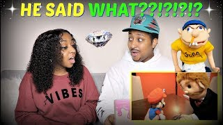 "SML Movie: ""The Diamond!"" REACTION!!!"