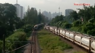 Cargo train derails, KTM Komuter and ETS services disrupted