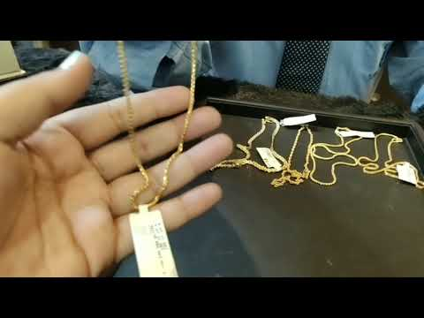 22ct Light Weight Daily Wear Gold Chains With Weight, Price And Address