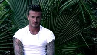 David Beckham ELLE UK August 2012