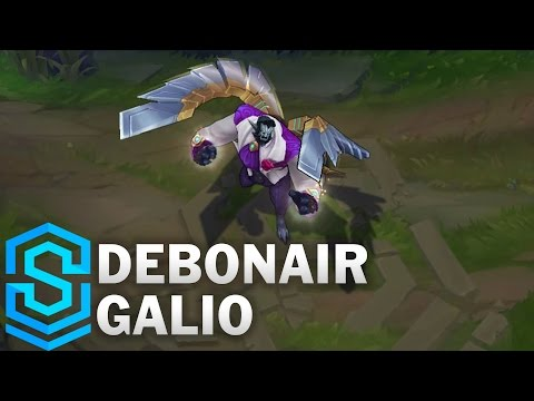 Debonair Galio (2017 Rework) Skin Spotlight - Pre-Release - League of Legends